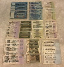 More details for germany banknote wholesale lot. 50 pcs. vintage collection. german banknotes.