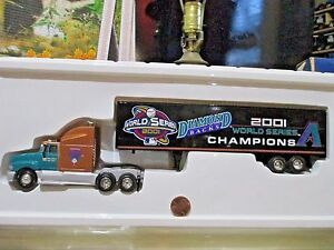 Fleer Collectibles 1/64 ARIZONA DIAMOND BACKS 2001 WORLD SERIES CHAMPIONS Truck