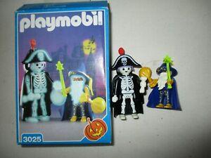 Playmobil - 3025  - HALLOWEEN 1998 SORCIER ET SQUELETTE EN BOITE
