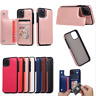 Leather Flip Magnetic Wallet Card Holder Case Cover For iPhone 11/ 11 Pro Max
