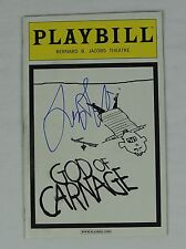 Lucy Liu God of Carnage Broadway Signed Authentic Autographed Playbill COA