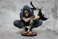 Naruto0 Shippuden Uchiha Itachi Squat PVC Action Figure Model Toy Collection