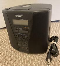 Sony Icf-Cd833 Dual Alarm Am Fm Cd Player Clock Radio Mega Bass 5 Pres 00004000 ets Tested