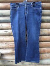 Levi Men's Blue Jeans Demi Curve Classic Rise Boot Cut Size 34