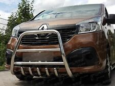 Nissan NV300 2014+ | FRONT HIGH BULLBAR , BULL BAR , A-BAR , STAINLESS STEEL