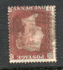 Line engraved -- penny red star Sg 17 Spec C1 plate 181 ( I D ) wmk Inv variety.