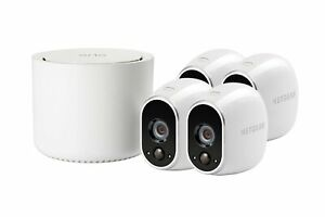 Arlo Wire-Free Security System with 4 HD Camera (VMS3430) - [LN]™