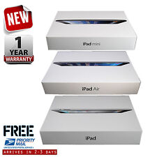 New Apple iPad Air 1/2 mini 2/3/4 16GB/32GB/128GB 9.7in/7.9in Wi-Fi+4G Cellular