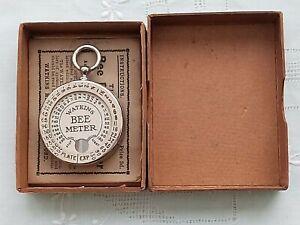 Vintage Photographic Watkins 'Bee' Exposure Meter Original Box and Instructions