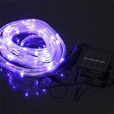 39.4ft 100leds Solar Rope tube lights Led string STRIP Waterproof Outdoor Garden
