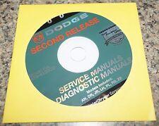 2004 Dodge Ram 1500 Truck Quad Cab Service Shop Manual On CD ROM