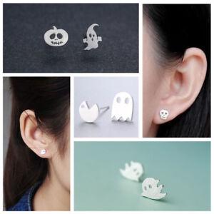 NEW Cute Women 925 Sterling Silver Crystal Rhinestone Ear Stud Earrings