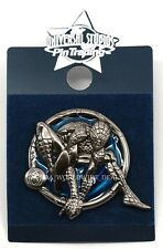 NEW Universal Studios Pin Trading - Metal Spider-Man (Blue Background)