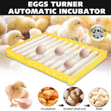 60 Egg Incubator Turner Tray Automatic Poultry Chicken Quail Hatching