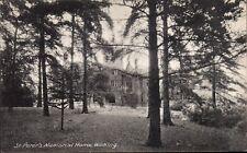 Woking. St Peter's Memorial Home. Conifers.