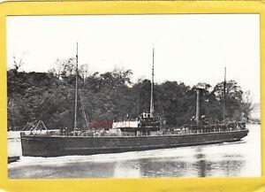 ARKLOW 1886 Clyde Shipping Co passenger / cargo ship ex Dunbrody    -Photograph