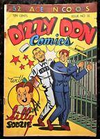🍁 Dizzy Don Comics #21 ( Dizzy Don Enterprises, Toronto, 1946 ) Canadian White