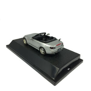 1:43 Scale Honda S2000 Cabriolet Model Car Diecast Vehicle Sliver Collection