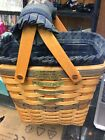 Longaberger Collectors Club Membership Basket Charter Member 1997 With Protector