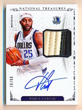 2013-14 National Treasures Vince Carter Sneaker Swatches Shoe Patch Auto (16/60)