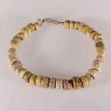 8138 Halskette aus alten Hebron (1820-1900) Glas Handelsperlen
