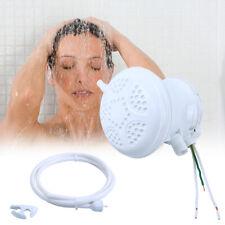 110V/120V Electric Shower Head Tankless Instant Hot Water Heater W/ Hose Bracket