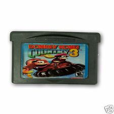 【Donkey Kong Country 3】 Nintendo Game Boy Advance SP  Handheld System Cartridges