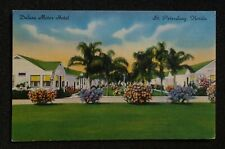 1940s Deluxe Motor Hotel 5304 4th Street N. St. Petersburg FL Pinellas Co PC
