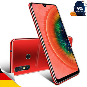 7,2 Zoll GPS Android 9.0 Handy Ohne Vertrag Dual SIM 4Core Smartphone Phablet