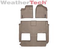 WeatherTech Van Floor Mats FloorLiners for Town & Country/Grand Caravan - Tan