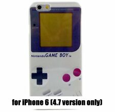 For iPhone 6 / 6S -HARD TPU RUBBER GUMMY SKIN CASE COVER NINTENDO GAMEBOY PLAYER