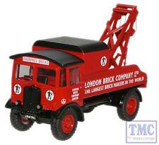 76AEC004 Oxford Diecast 1:76 Scale OO Gauge London Brick AEC Matador Wrecker