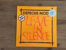 """Depeche Mode – Leave In Silence 12"""" German Press Mute INT 126.807 CLEAR VINYL!"""