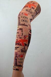 London Sight Seeing Camden tight footless  tights emo punk tattoo art work uk