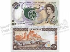 Isle of Man £10 Banknote (Mint) (AI14)