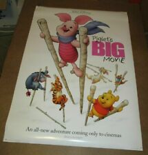 Piglets Big Movie 2003 double sided one sheet - 27x40 rolled - free shipping
