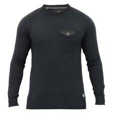 Jerséis y cárdigan de hombre negro color principal negro 100% algodón