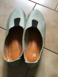 Chaussures vertes en cuir pour femmeeBay