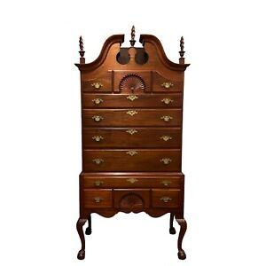 Antique Boston Chippendale Style Walnut Highboy