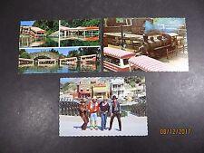 Vintage 1970's Lot of 3 Universal City Studio's CA. Postcards