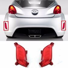 Rear Bumper Reflex Reflector set LH RH For 2011- Veloster OEM Parts