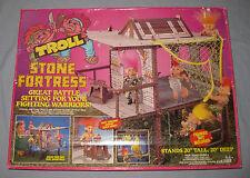 "Nib He-Man 20""x20"" Stone Fortress Playset Motu Holy Grail Ko Eco Monster Castle"