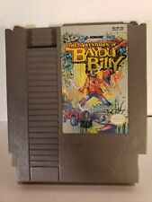 THE ADVENTURES OF BAYOU BILLY NINTENDO GAME SYSTEM NES