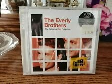 Definitive Pop Collection Everly Brothers (2CD, Rhino/Warner, Remastered) SEALED