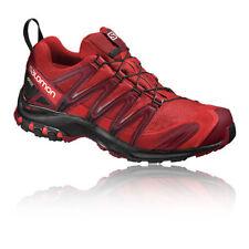 Chaussures et bottes de randonnée rouge Salomon