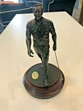 Danbury Mint Arnold Palmer Statue The Charge Cold Cast Golf Sculpture Figurine