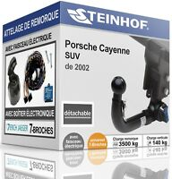Attelage démontable Porsche Cayenne 2002//2010 faisceau 7 broches