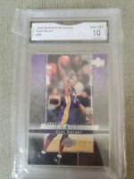 2003 UD rookie Exclusive Kobe Bryant #59  GMA gem Mint 10