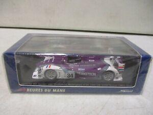 Spark Porsche RS Spyder Van Merksteijn Motorsport 10th LM 2008 Winner 1/43