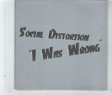 (HK822) Social Distortion, I Was Wrong - 1996 DJ CD